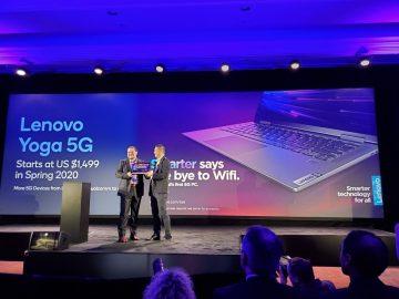 Lenovo CES 2020 yoga 5g