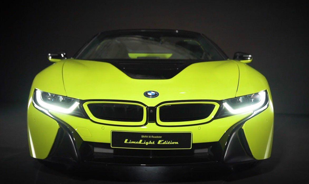 Alcantara e BMW presentano la i8 Roadster LimeLight Edition thumbnail