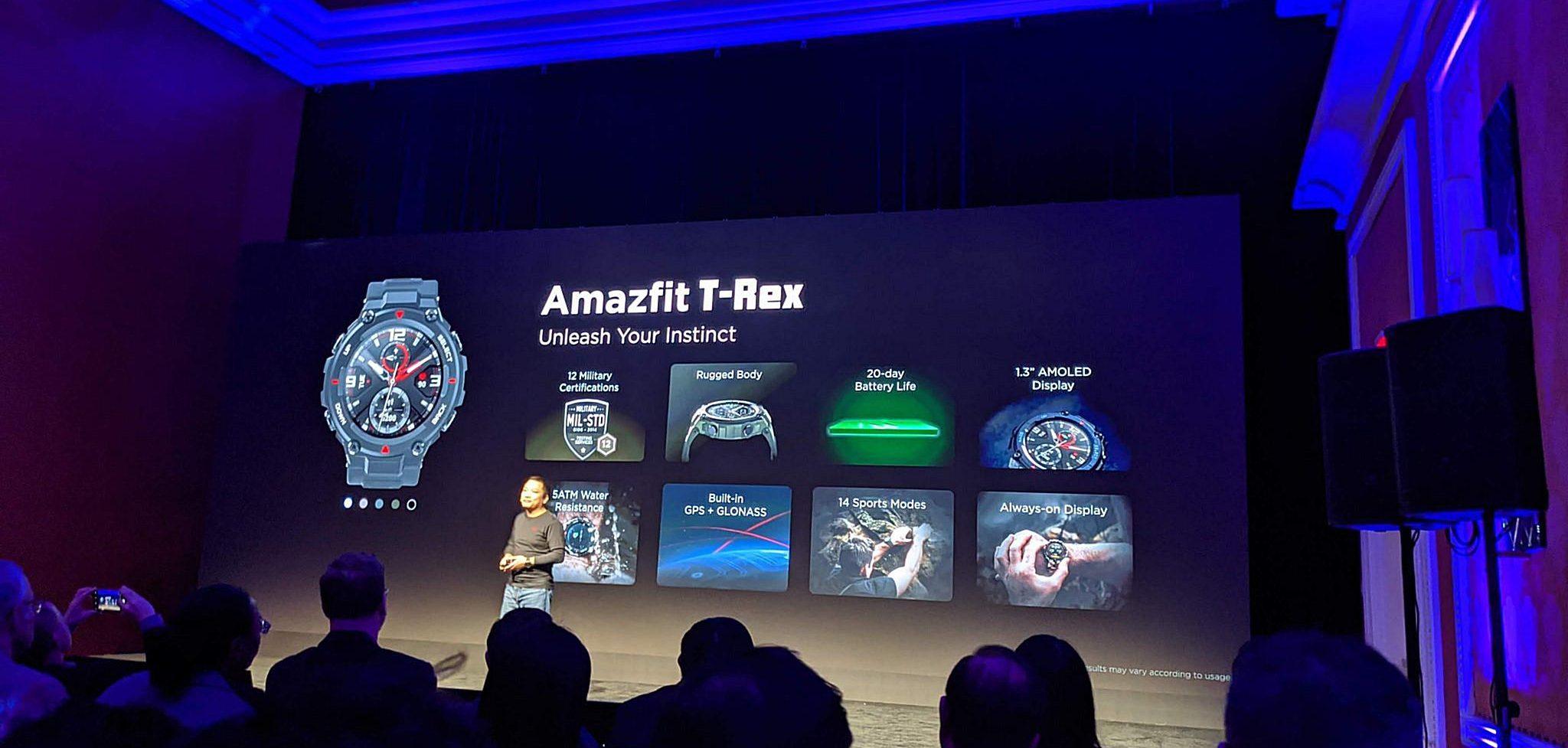 Huami Amazfit presenta T-Rex e Bip S, due nuovi smartwatch al CES 2020 thumbnail