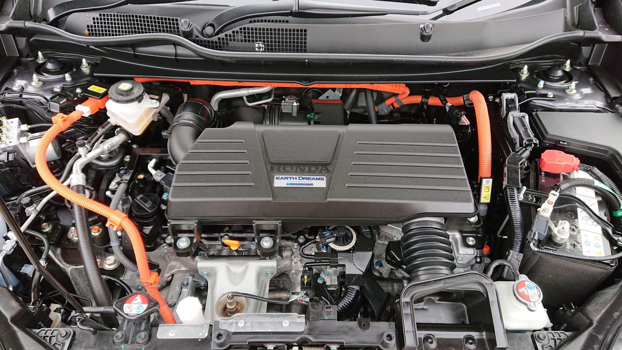auto ibride Honda i-MMD