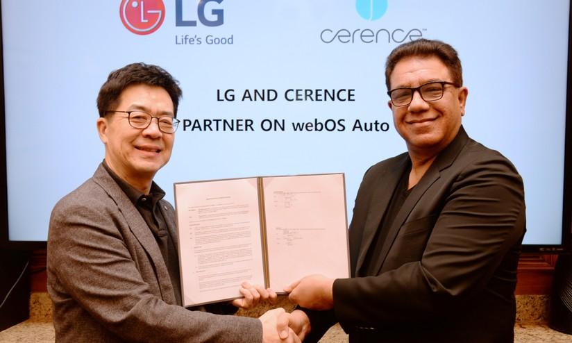 cerence microsoft lg automotive