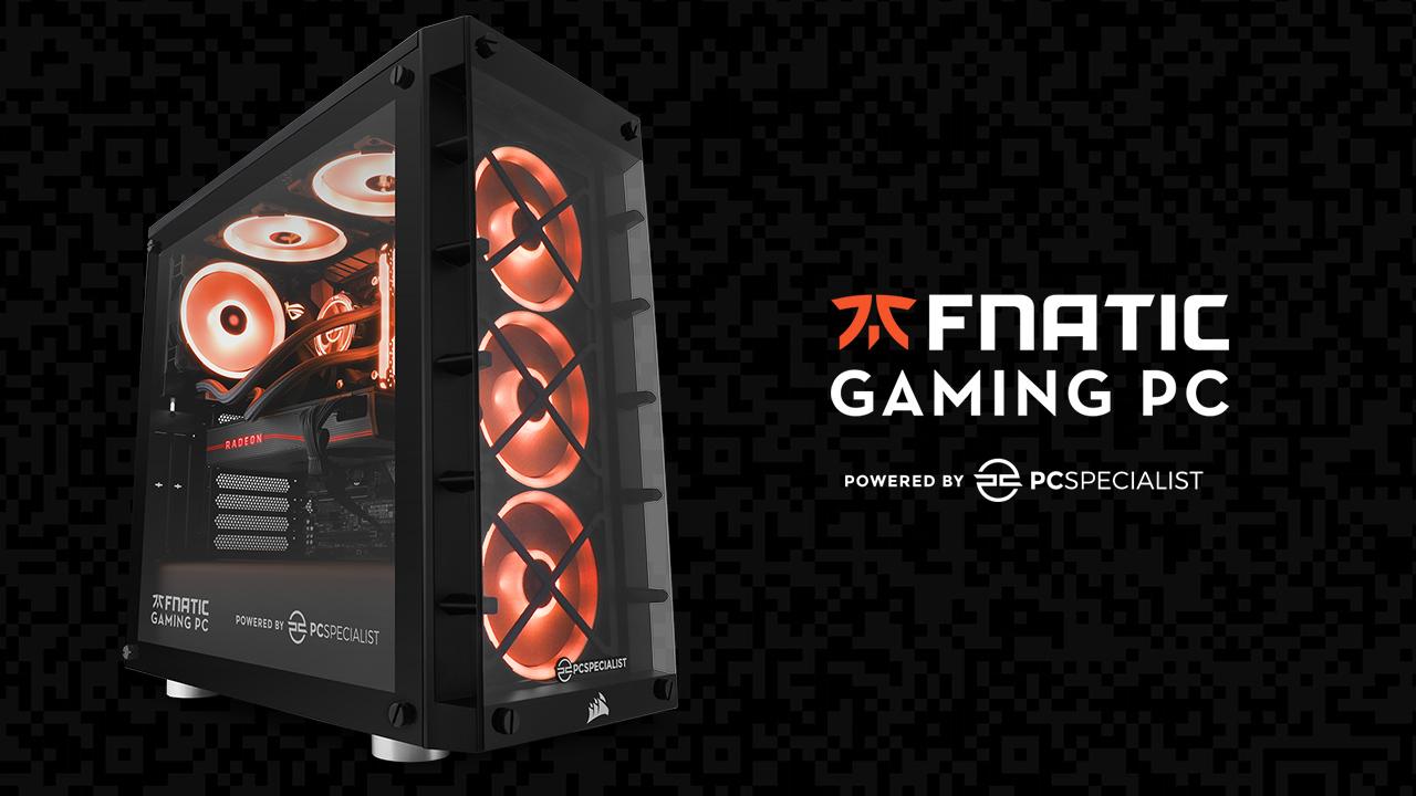 PCSpecialist e Fnatic insieme per il PC gaming AMD definitivo thumbnail