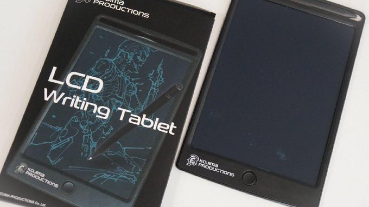 Hideo Kojima lancia il suo tablet personalizzato thumbnail