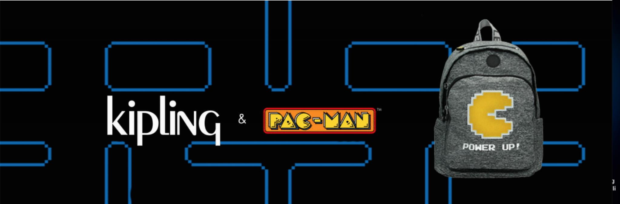 Kipling celebra il 40° anniversario di Pac-Man con una capsule collection thumbnail