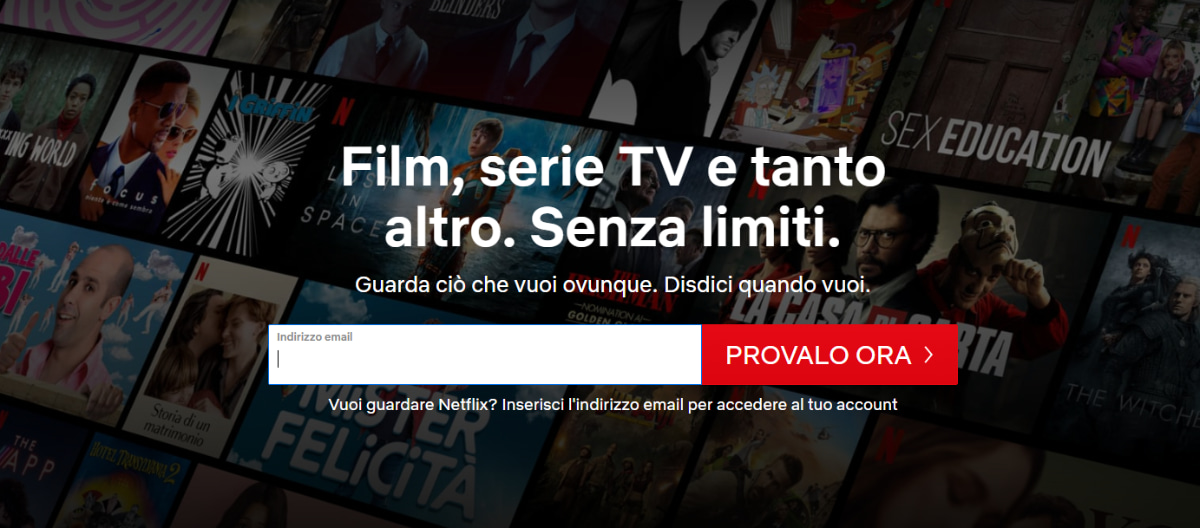 Netflix come funziona