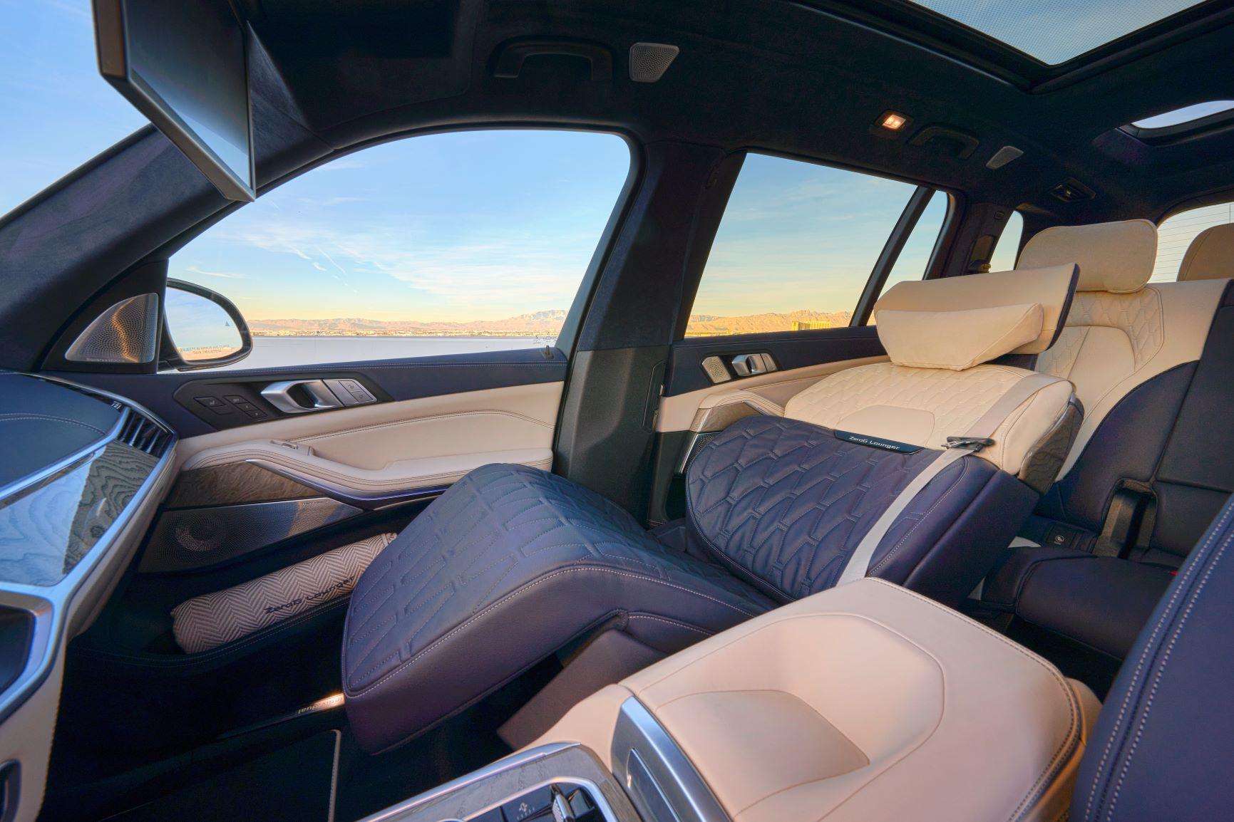 novità BMW ZeroG Lounge sedile