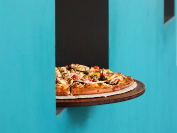 pizza a domicilio deliveroo