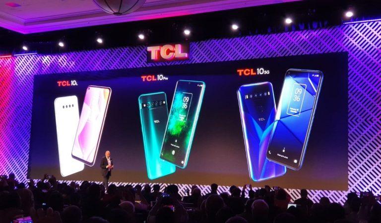 TCL presenta sei nuovi smartphone al CES 2020, dal low cost al 5G