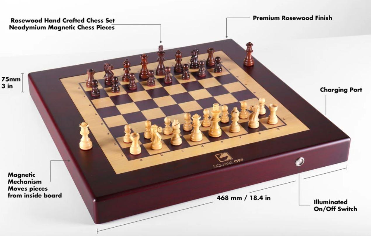 square off scacchiera magica dettagli