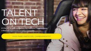 Talent On Tech: tutto quello che c'è da sapere sul progetto di recruitment di EY