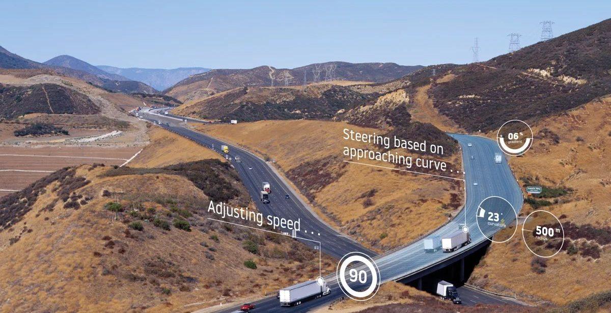 Le mappe TomTom consentiranno ai camion di risparmiare carburante thumbnail