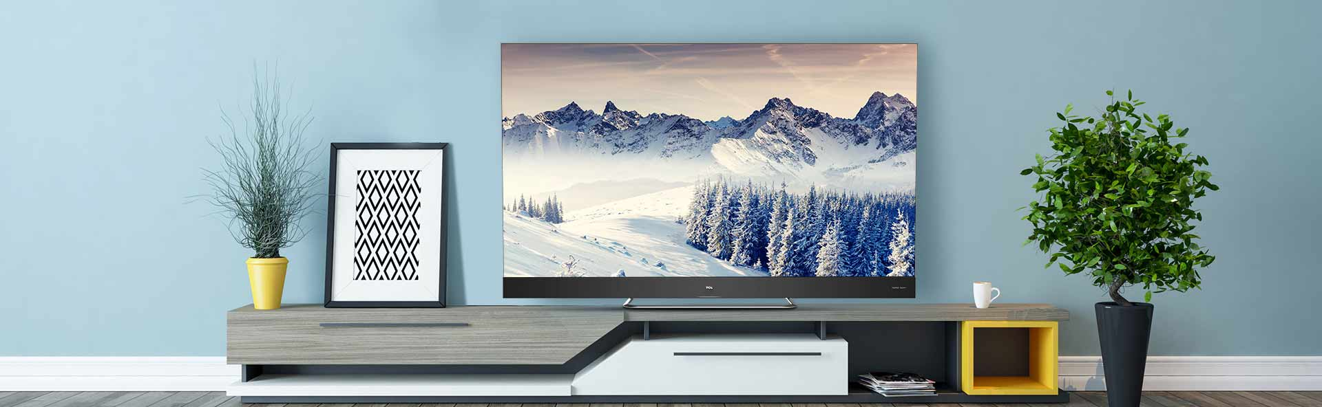 TCL Electronics, nuova gamma TV QLED e smart device mostrata al CES thumbnail