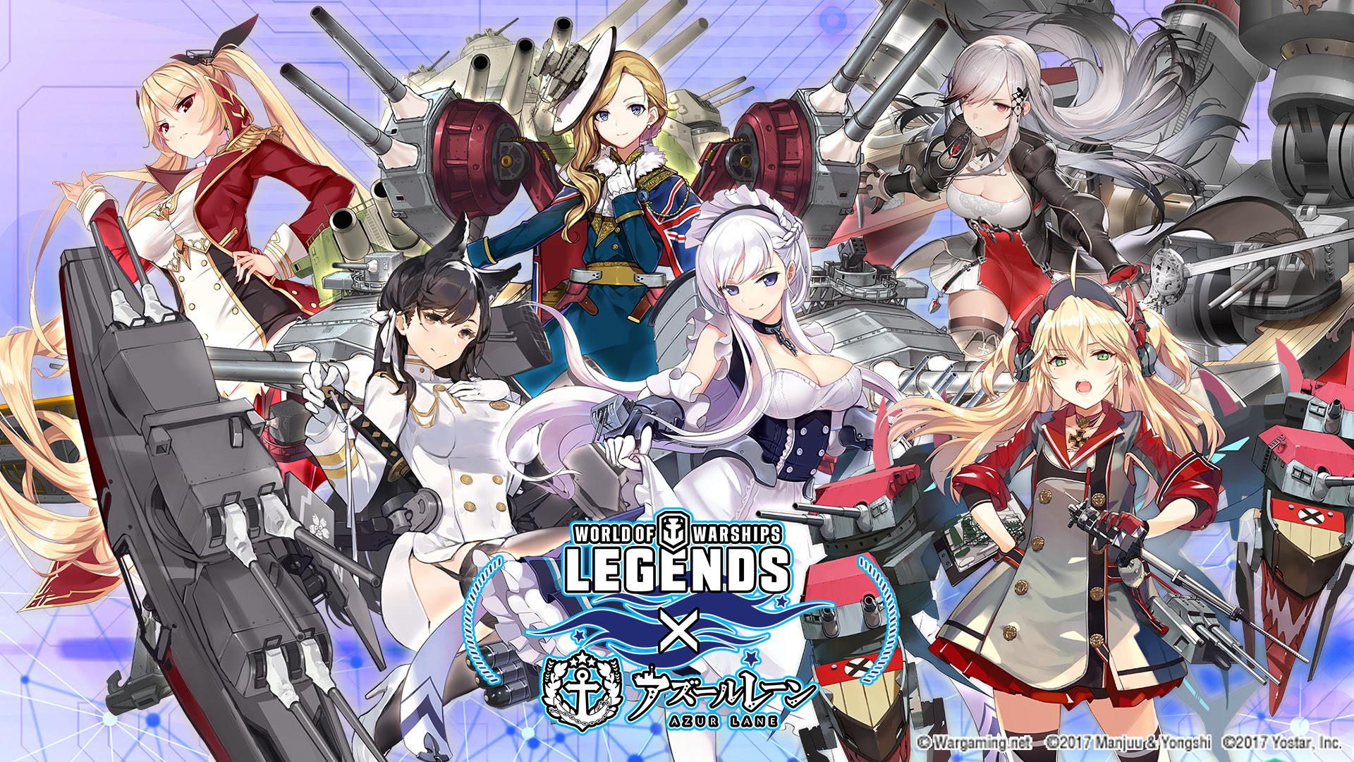 World of Warships: Legends incontra il mondo di Azure Lane thumbnail