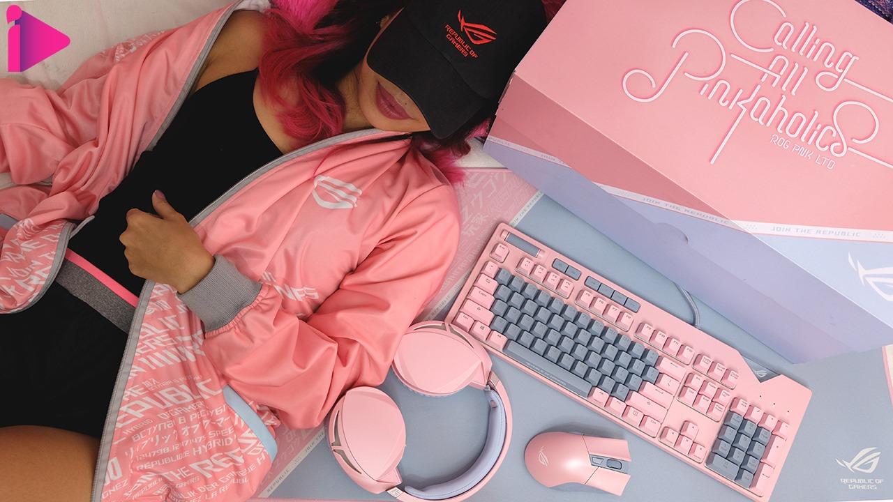 Asus ROG Pink: per San Valentino gli accessori gaming si tingono di rosa thumbnail