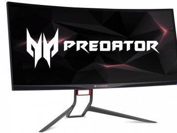 Nuovi monitor Acer Predator