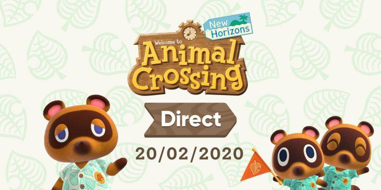 Animal Crossing: New Horizons direct nintendo