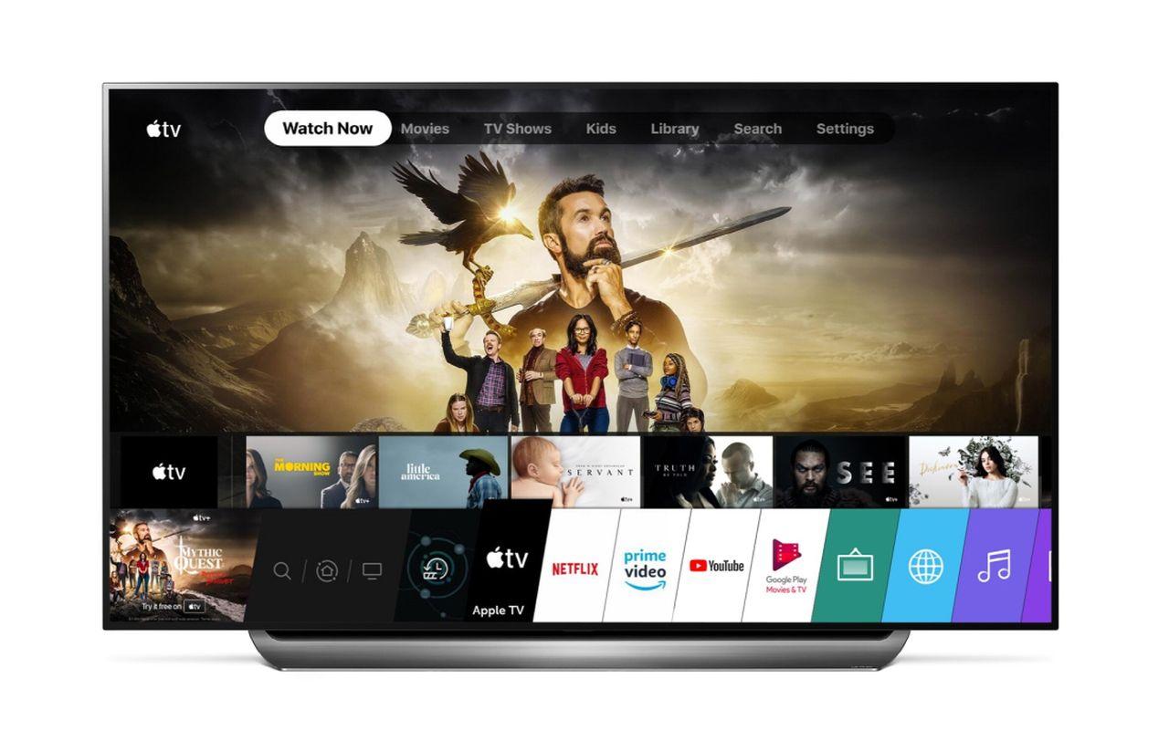 Apple TV arriva sulle smart TV LG prodotte nel 2019 thumbnail