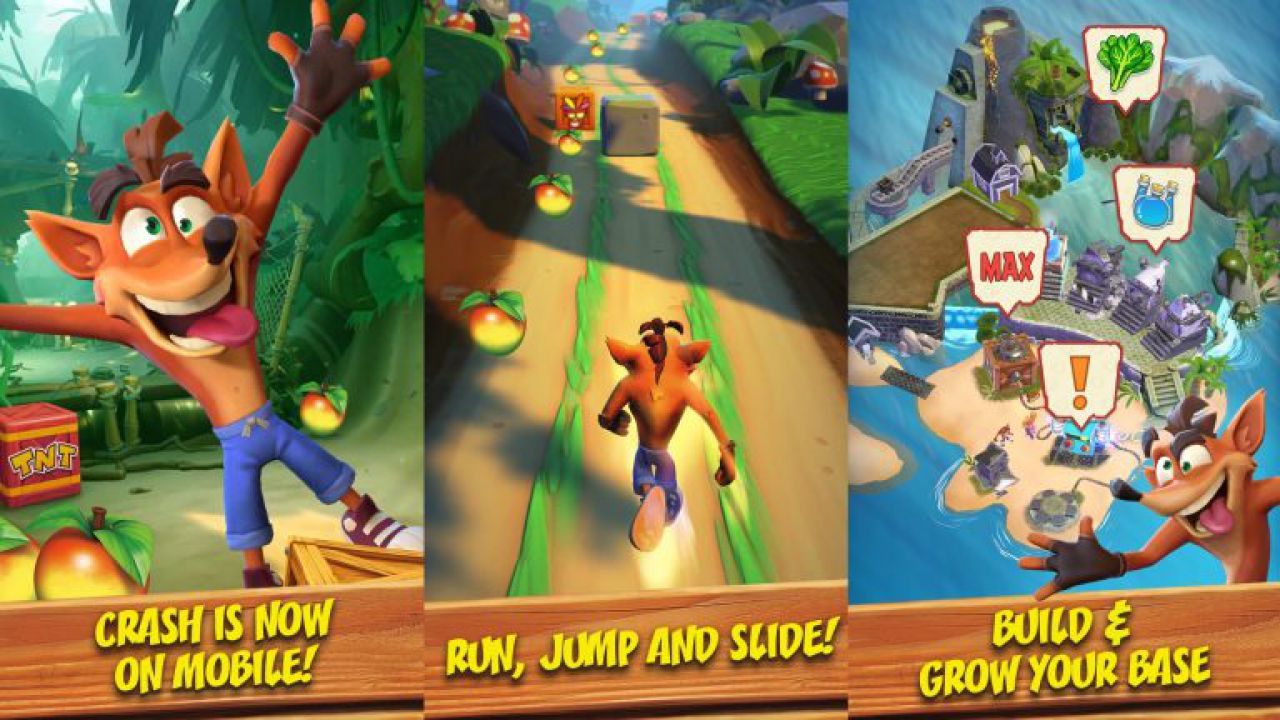 Crash Bandicoot Mobile: rivelato l'endless runner per iOS e Android thumbnail