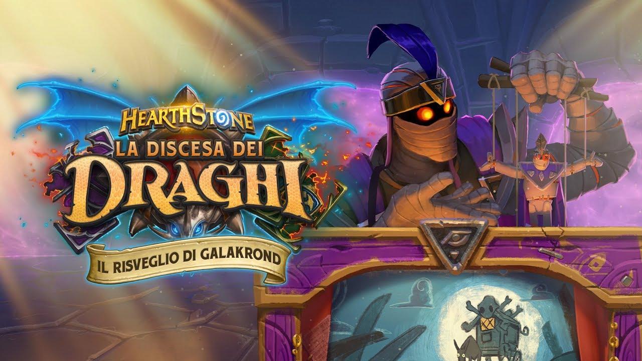 Hearthstone Il Risveglio di Galakrond ora disponibile thumbnail