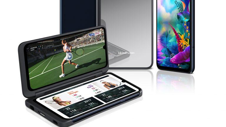 LG G8X ThinQ smartphone dual screen san valentino