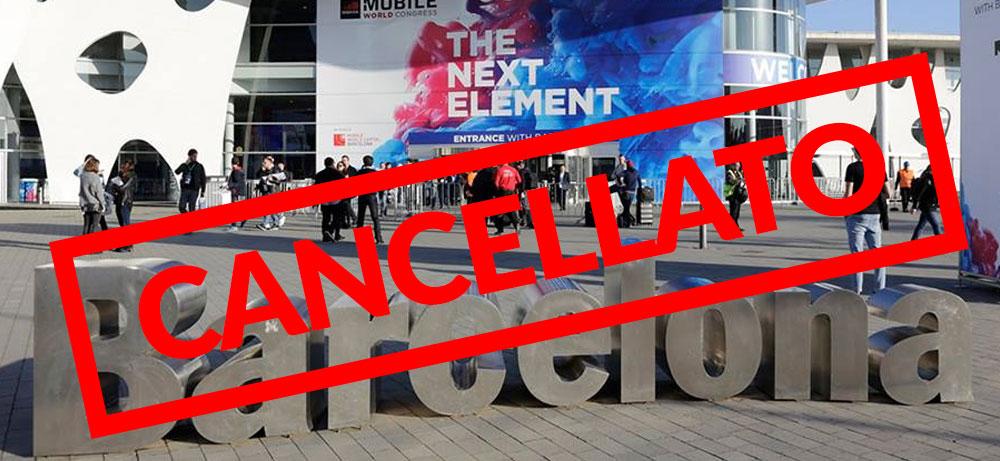 MWC 2020 cancellato. GSMA annulla la fiera a causa del coronavirus thumbnail