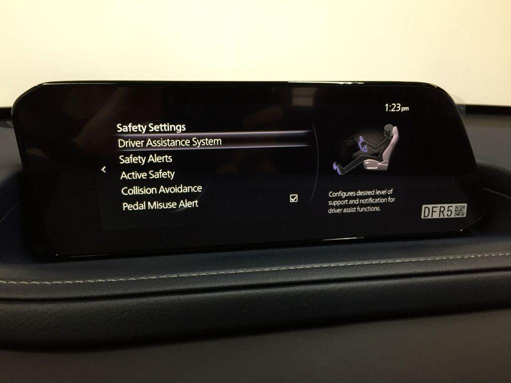 Mazda CX-30 safety settings