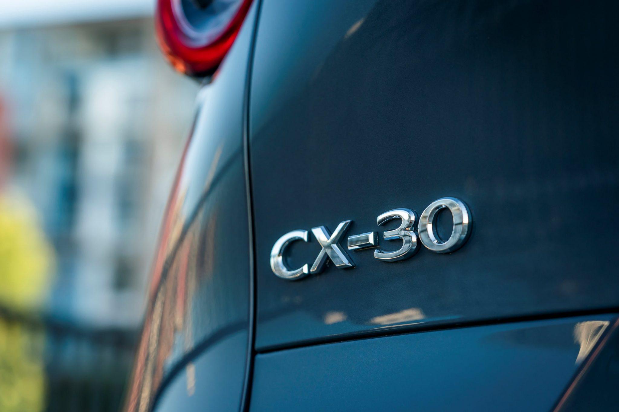 Mazda-CX-30 logo