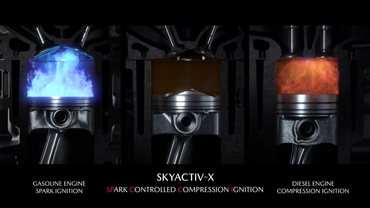 Mazda Skyactiv-X come funziona