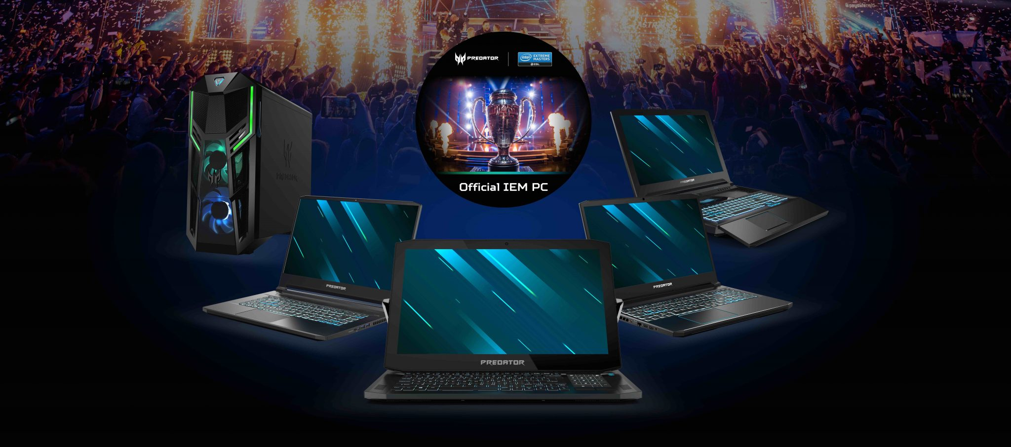 Acer Predator porta l'Intel Extreme Masters (IEM) a Katowice thumbnail