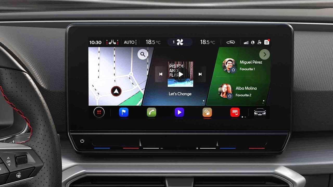 SEAT Leon 2020 infotainment