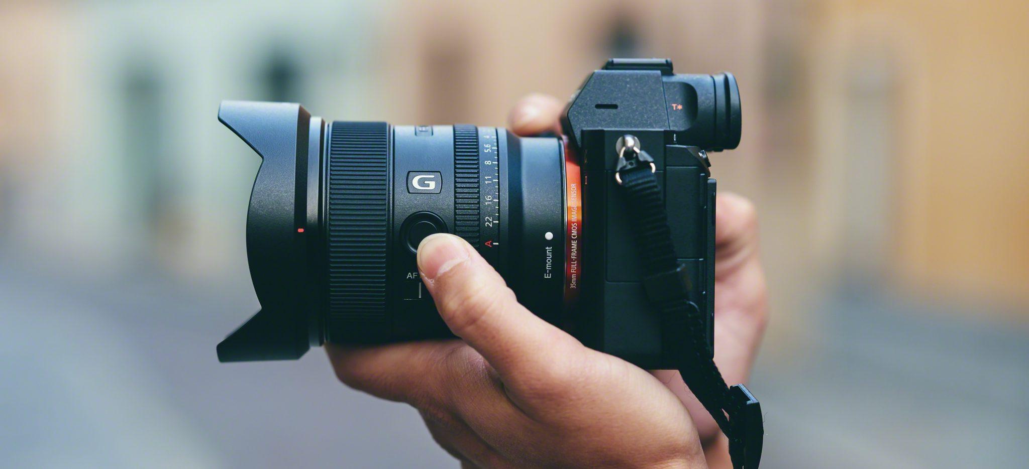 Il nuovo obiettivo FE 20 mm F1,8 G di Sony, ultragrandangolo a focale fissa thumbnail
