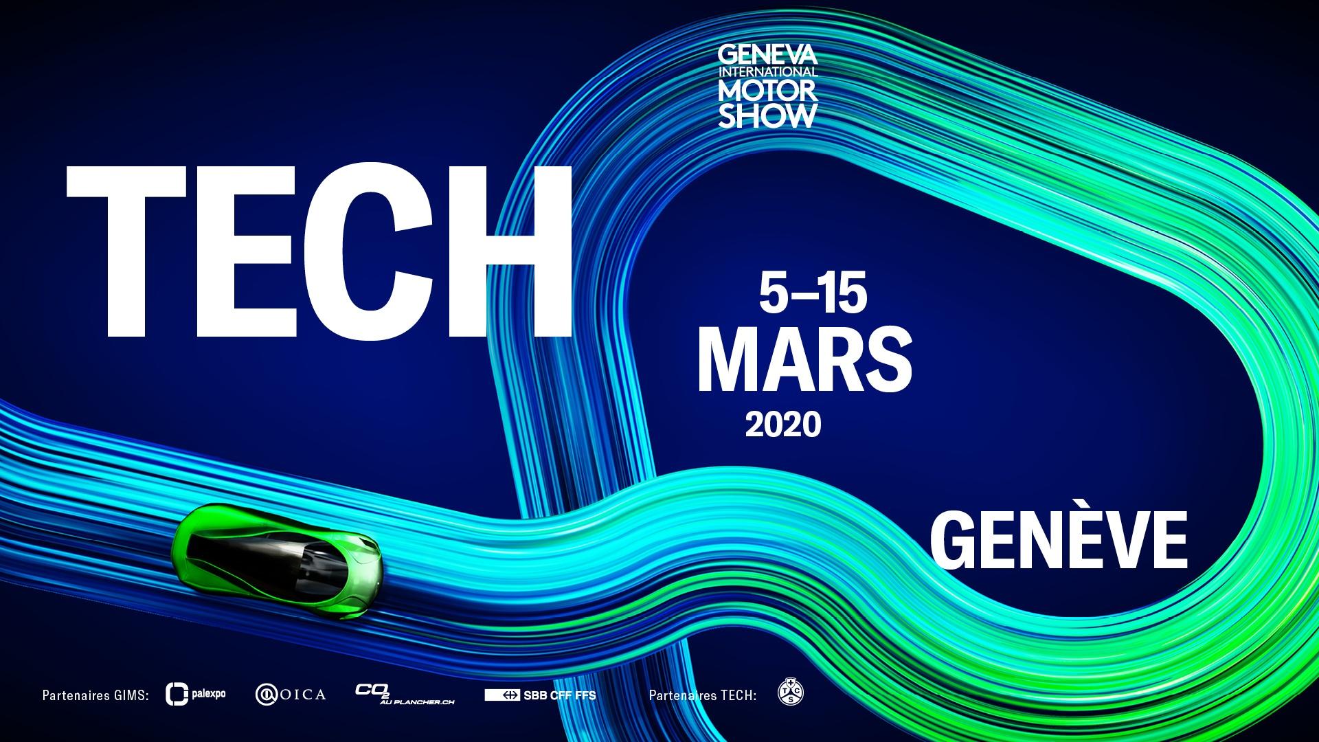 Salone di Ginevra 2020 Tech