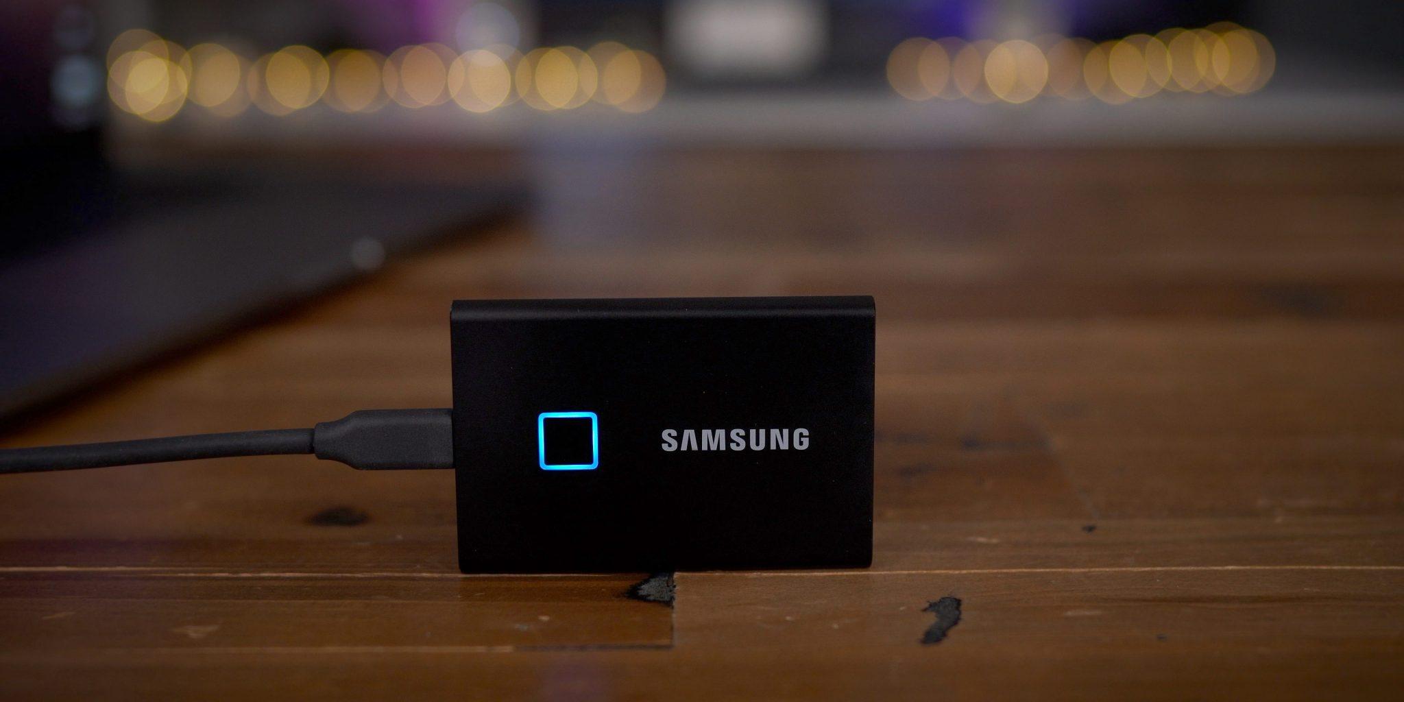 Samsung SSD T7 Touch: velocità e privacy thumbnail