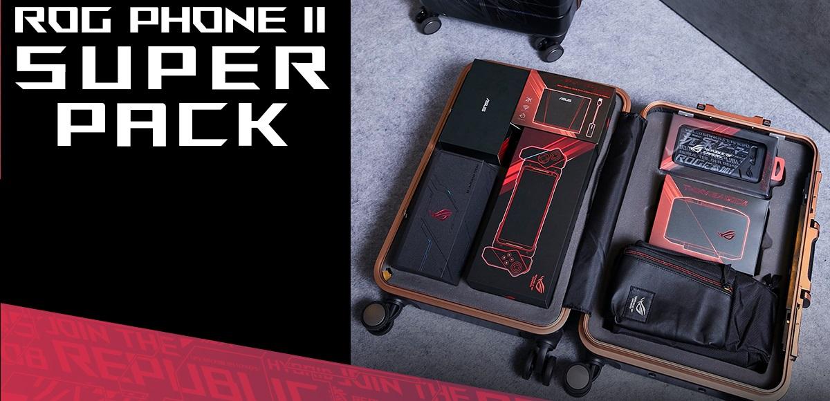Super Pack ASUS ROG Phone II è ora disponibile thumbnail