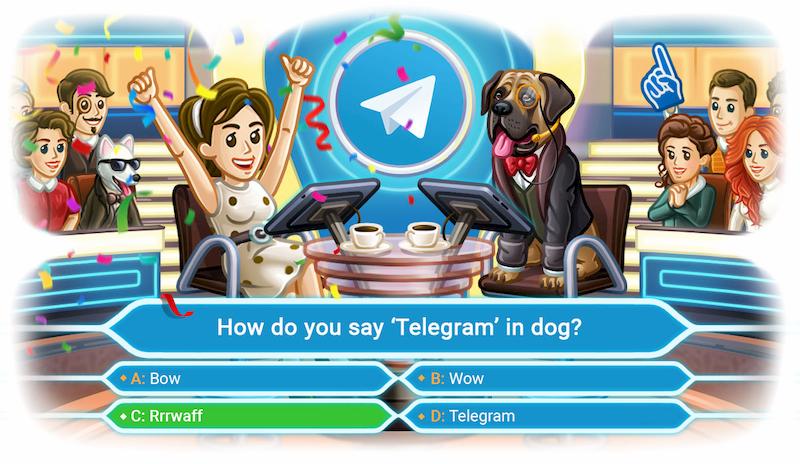 Telegram quiz giochi da tavolo quarantena