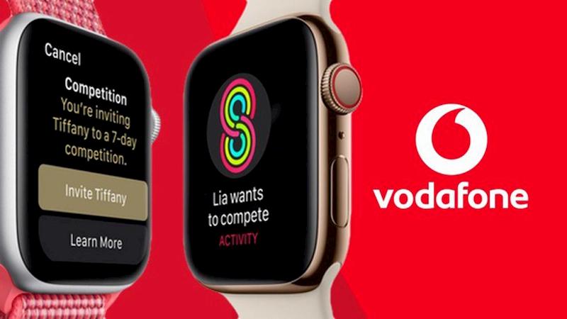 Vodafone OneNumber eSIM Apple Watch