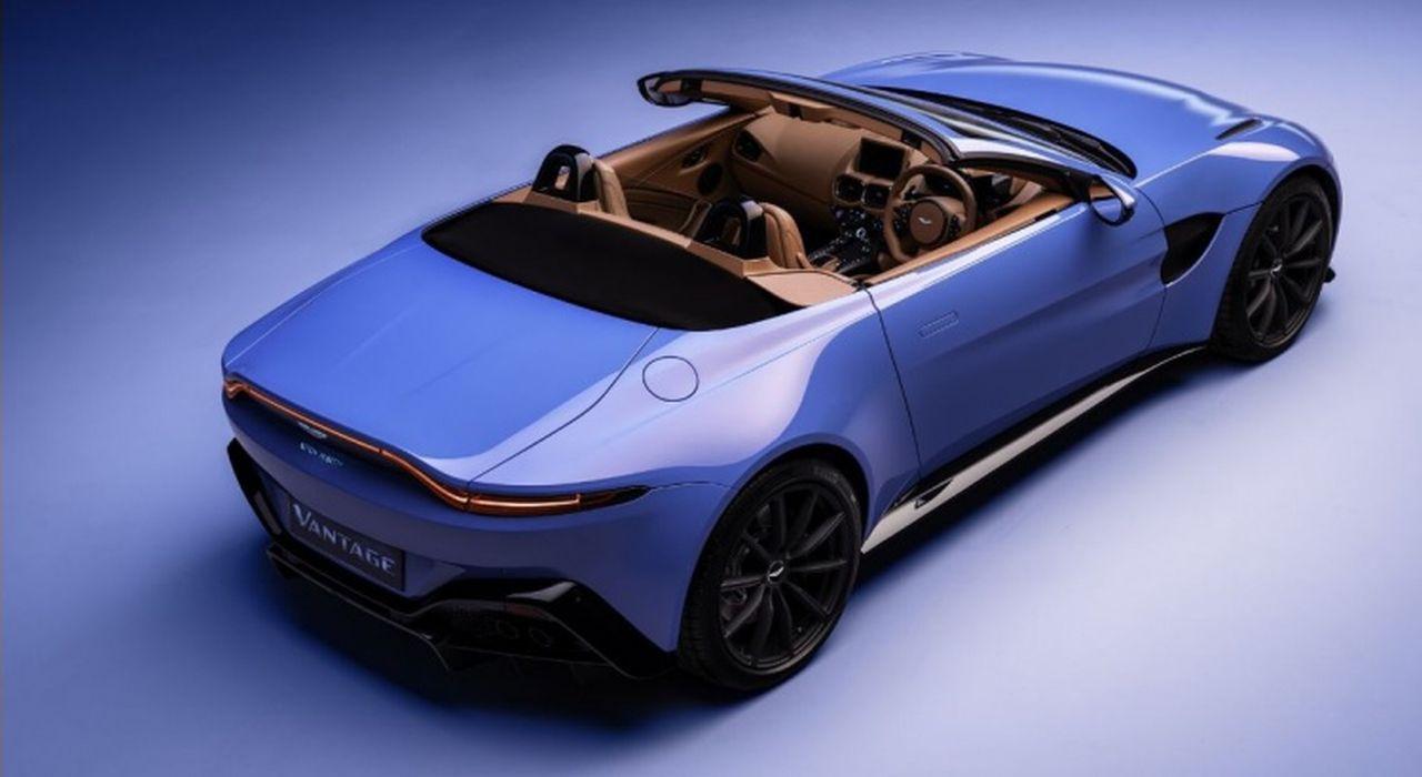 Aston Martin Vantage Roadster: la nuova cabriolet sarà svelata Ginevra thumbnail