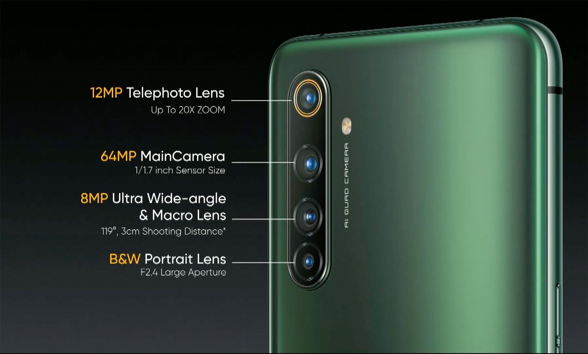 x50 pro back camera