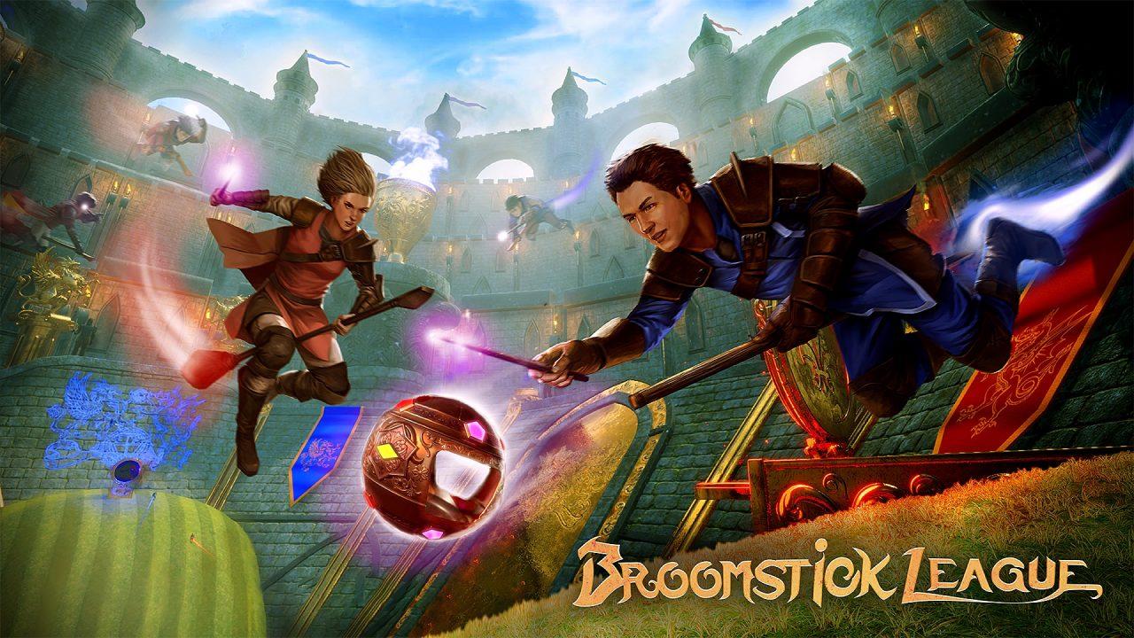Broomstick League, le scope volanti arrivano il 5 marzo su Steam thumbnail
