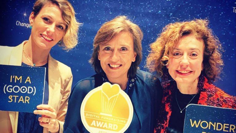digital fundraising award paypal rete del dono