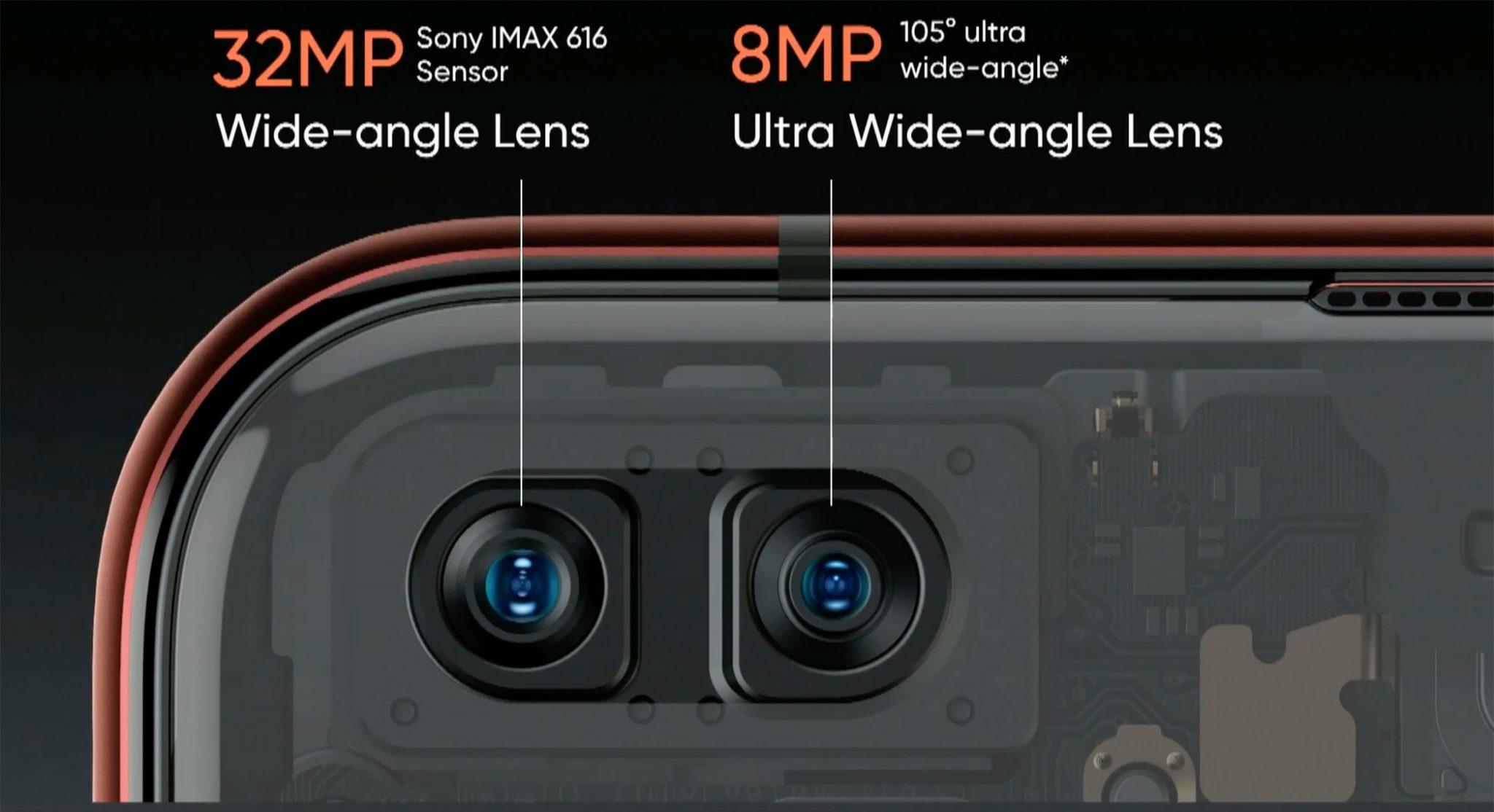 front camera realme x50 pro