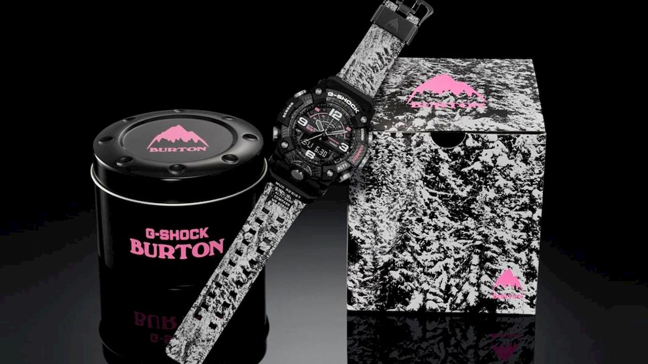G-Shock lancia un nuovo orologio con Burton Snowboards thumbnail