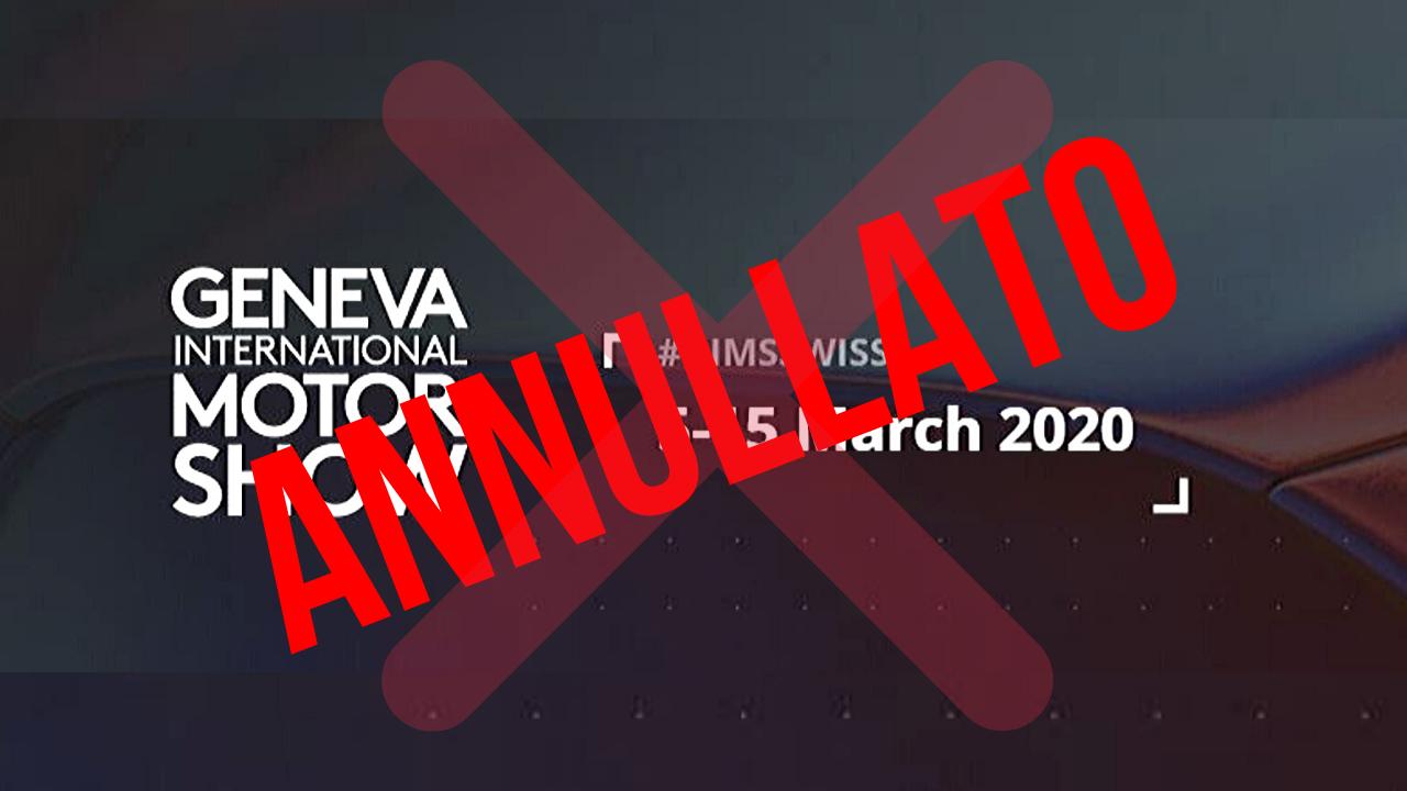 Salone di Ginevra cancellato. Il Coronavirus colpisce ancora thumbnail