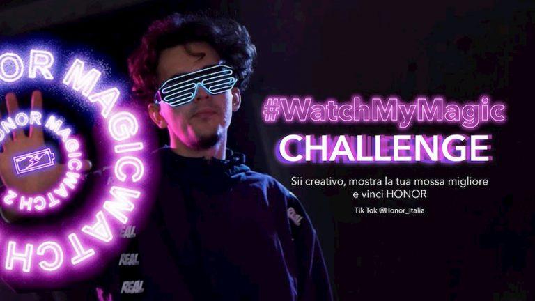 honor-magic watch 2 tik tok challenge