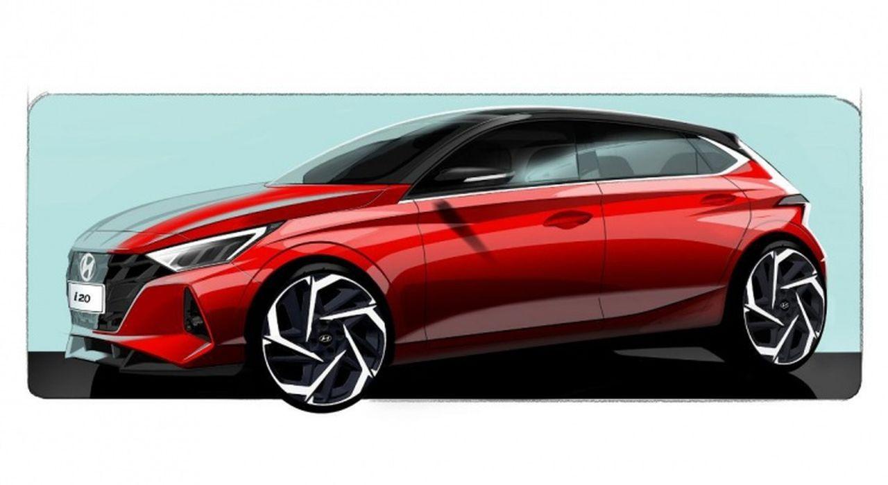 Nuova Hyundai i20 (2020) svelata in alcuni teaser ufficiali thumbnail