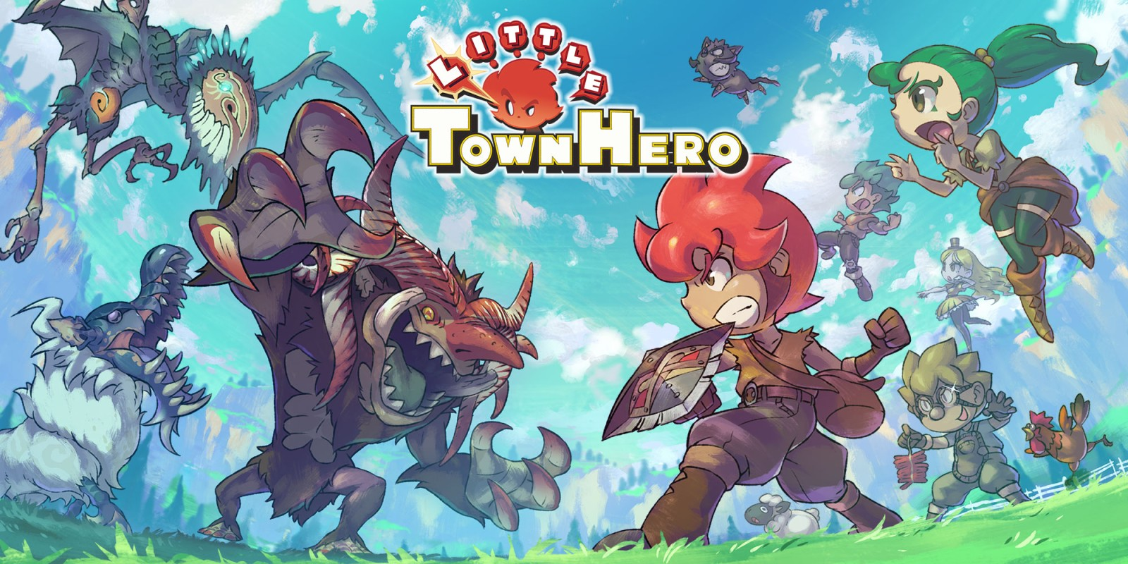 Little Town Hero in arrivo su Playstation 4 a giugno thumbnail