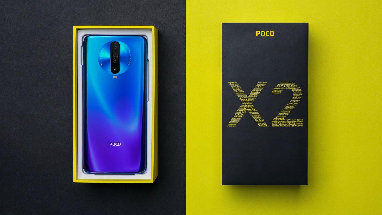 POCO X2 è ufficiale: lo smartphone di Pocophone con display a 120 Hz thumbnail