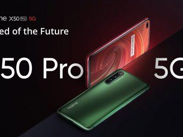 smartphone realme x50 pro