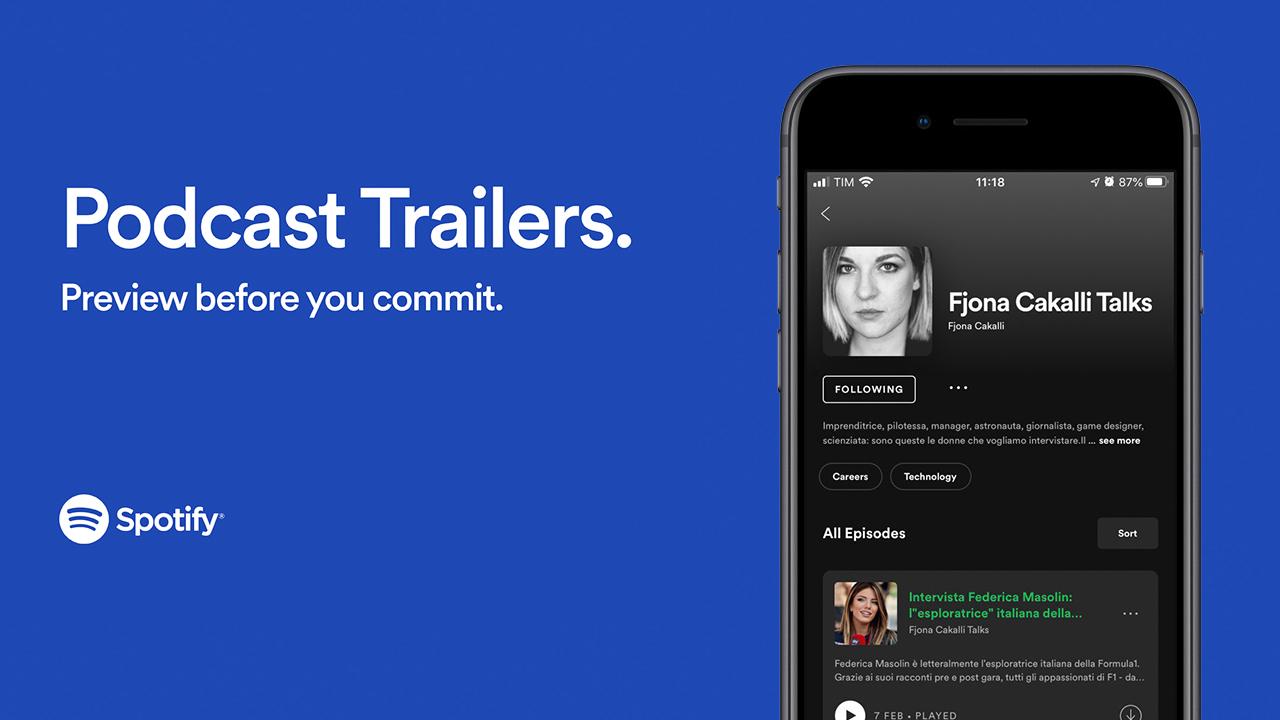 Spotify rinnova la sezione Podcast: nuovo design e funzionalità thumbnail