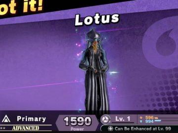 Super Smash Bros Ultimate lotus